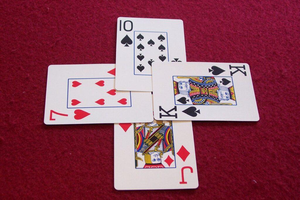 4 poker Mistake